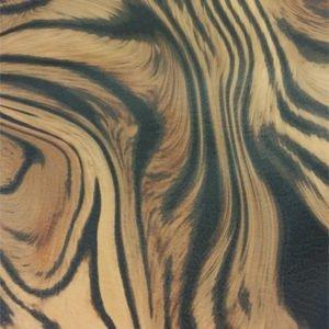 tiger rem av vegetabiliskt garvat renskinn