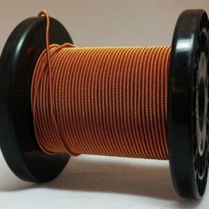 Licht-kupfer selbst gemachter emaillierter und gesponnener Kupferdraht auf Rolle