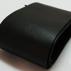 black strap of tanned reindeer hide