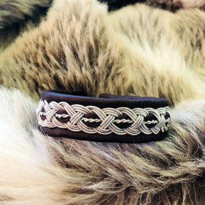 armband-leon-smycke-tenntråd-koppartråd-läder-slöjdmaterial