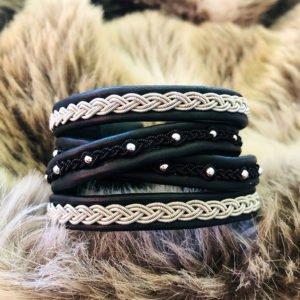 armband-neo-smycke-tenntråd-koppartråd-läder-slöjdmaterial